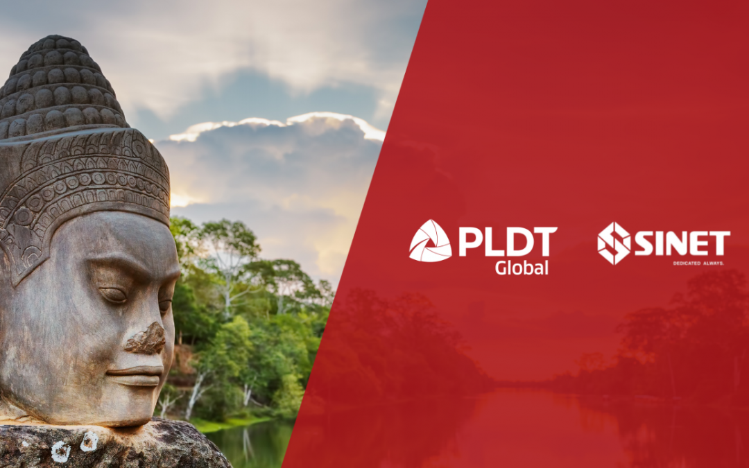 PLDT Global partners with Cambodia's SINET to level up content delivery services